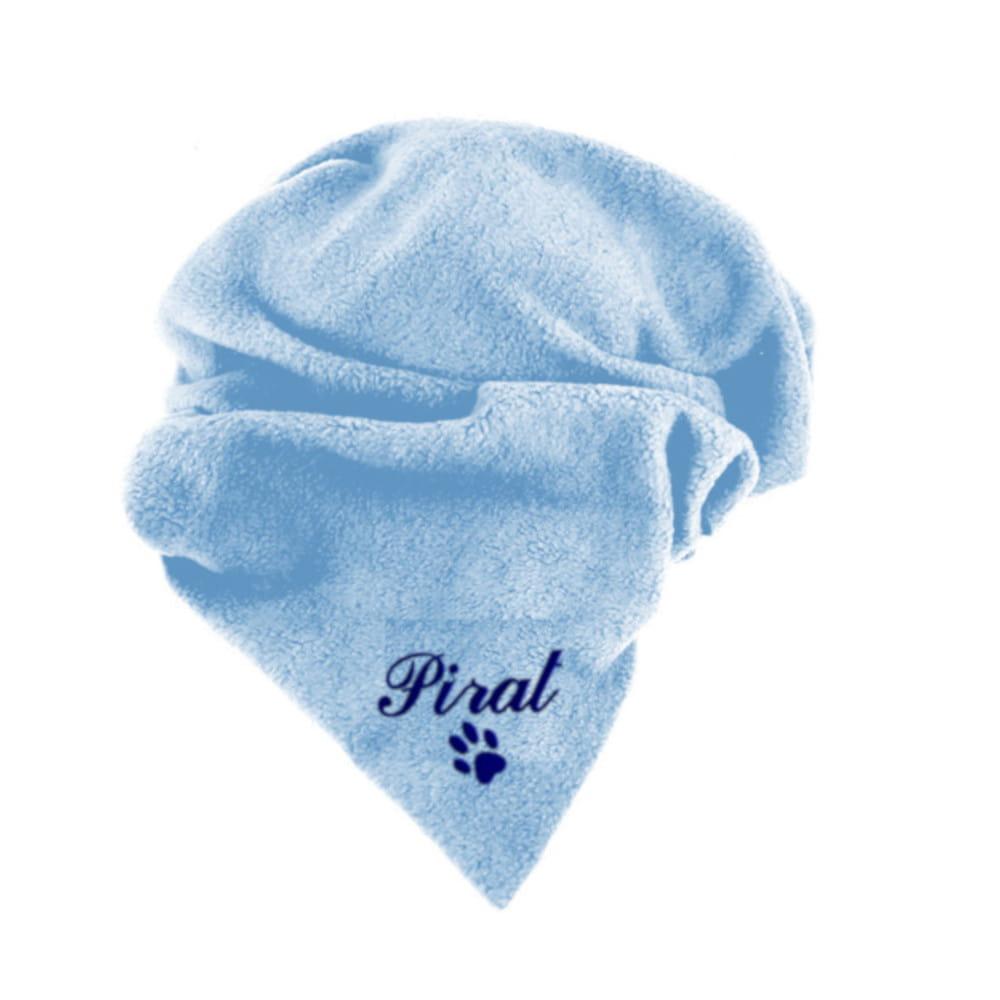 Koc legowisko dla psa z imieniem niebieski